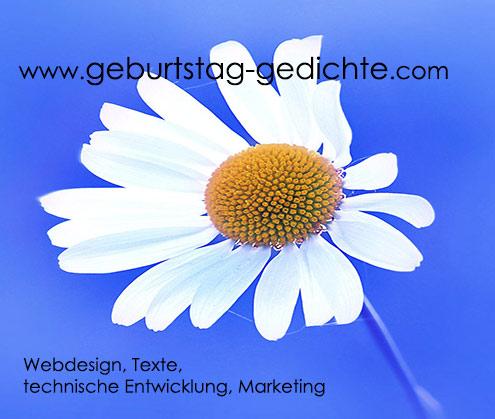 ... Webdesign Von Geburtstag Gedichte.com ...